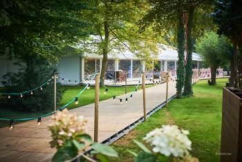 Huwelijk Kristallijn tent tuin