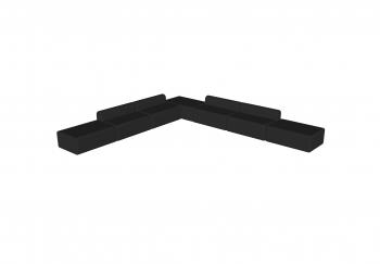 Een overzicht van de nieuwe producten van juli 2019.    -Kahana poef en bank: modulaire zitelementen die gecombineerd kunnen worden met de reeds bestaande zitbalk en poef. Op deze manier kan zowel een hoekzetel als een ziteleiland gecreeërd worden.  Verkr