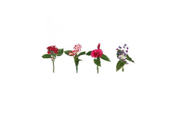 FÆK | Flowers Lush - Table Small - bloemen - kleurrijk - colorful - tropical - tropisch - boeket -  faek - verhuur - evenementen - feest - rental - events - artificieel - artificial
