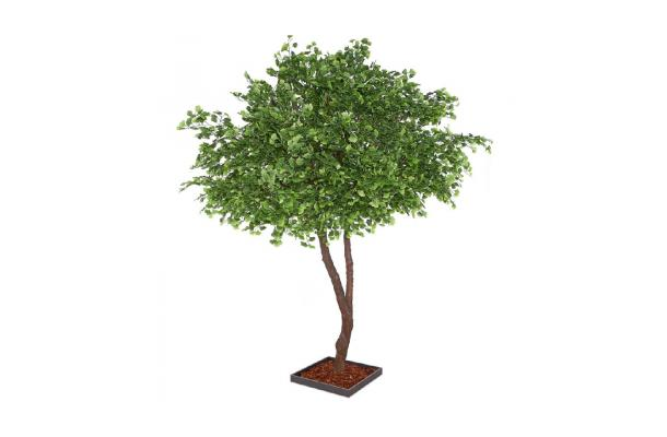 FÆK | Tree Ginkgo green two stems 400 - groen - tweestammig - faek - verhuur - evenementen - feest - rental - events - artificieel - artificial