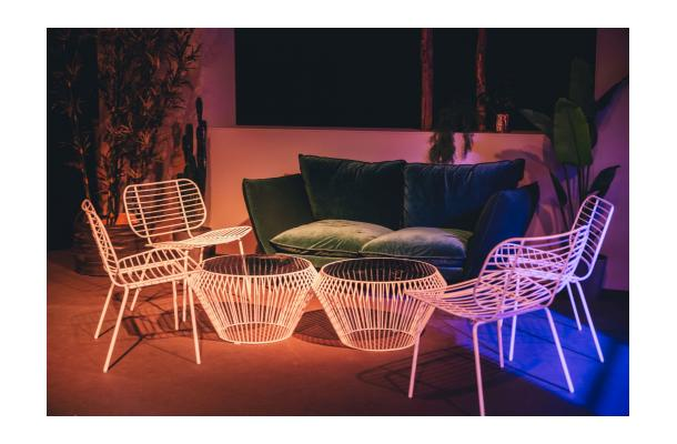 Design Salontafel Mat Wit.Salontafel Stella Mat Wit O 58 Cm Levi Party Rental
