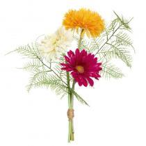 FÆK | Flowers Gerbera - Table small - roze wit oranje - bloemen - boeket -  faek - verhuur - evenementen - feest - rental - events - artificieel - artificial